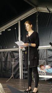 Melanie presenteert programma Wieger wordt Wakker